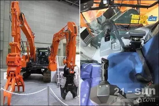 两臂液压挖掘机